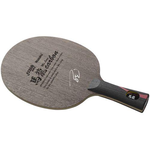 Nittaku ニッタク 卓球ラケット 攻撃用シェークハンド 馬龍カーボン FL フレア LGタイプ NC0423