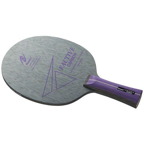 Nittaku ニッタク 卓球ラケット 攻撃用シェークハンド ファクティブカーボン FL フレア NC0434