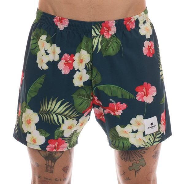 SAYSKY セイスカイ ランニングパンツ ショーツ Pace Shorts 6MRSH10 Poseidon Flowers
