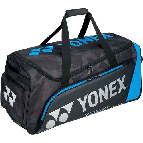 YONEX ヨネックス テニス キャスターバッグ ラケット3本収納可 BAG1800C 188 ブラック/ブルー<在庫僅少>