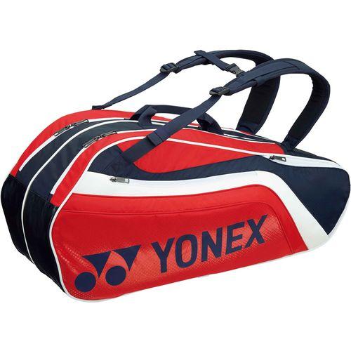 YONEX ヨネックス テニス用ラケットバック6 リュック付 ラケット6本用 BAG1812R 097 ネイビー/レッド