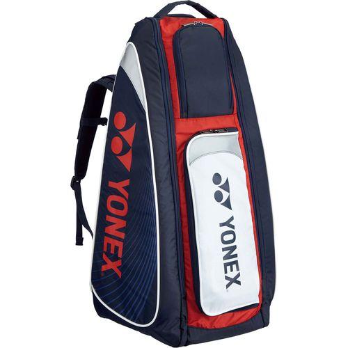 YONEX ヨネックス テニス用 スタンドバッグ リュック付 テニスラケット2本用 BAG1819 097 ネイビー/レッド