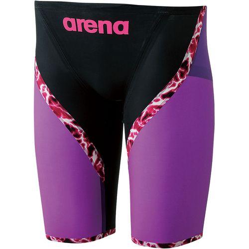 arena アリーナ スイミング 水泳 AQUAFORCE LIGHTNING ハーフスパッツ ARN6003M BKPL