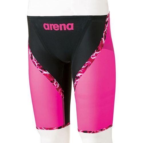 arena アリーナ スイミング 水泳 AQUAFORCE LIGHTNING ハーフスパッツ ARN6003M BKPP