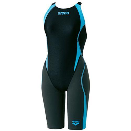 arena アリーナ スイミング 水泳 セイフリーバックスパッツ レディース 競泳用水着 Fina承認 ARN8080W BKBF