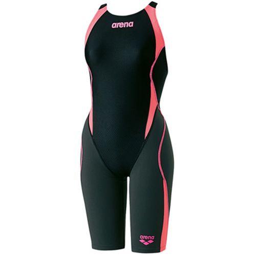 arena アリーナ スイミング 水泳 セイフリーバックスパッツ レディース 競泳用水着 Fina承認 ARN8080W BKPF