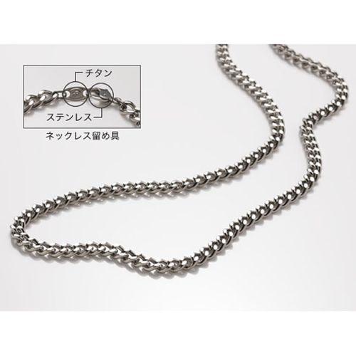 phiten ファイテン チタンチェーンネックレス[留め具なし] TC65 65cm