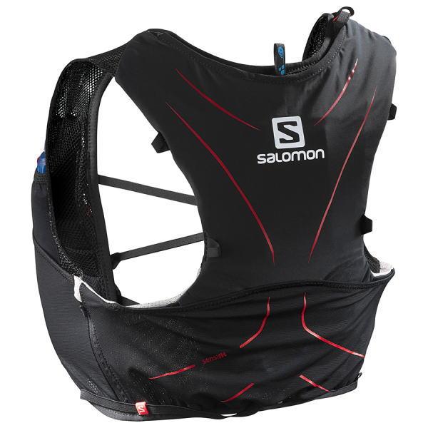SALOMON サロモン トレイルランニング ベスト バックパック ADV SKIN 5 SET L39267700 ブラック<店頭在庫限り>