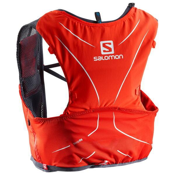 SALOMON サロモン トレイルランニング ベスト バックパック ADV SKIN 5 SET L40139400 レッド