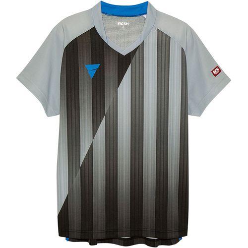 VICTAS ヴィクタス 卓球ウエア VICTAS ユニセックス ゲームシャツ V‐NGS052 031467 0440 グレー