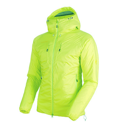 MAMMUT マムート メンズ 中綿ジャケット Rime IN Flex Hooded Jacket AF Men 1013-00750 canary<店頭在庫限り>