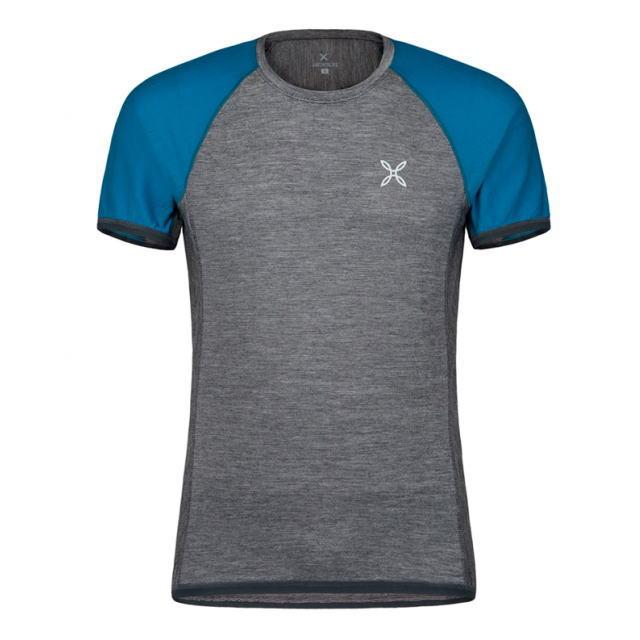 MONTURA モンチュラ ショートスリーブTシャツ 半袖 RUN WOOL T-SHIRT MTGR60X 9083<店頭在庫限り>