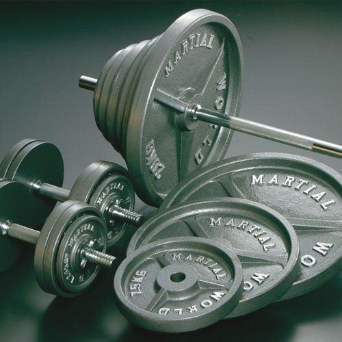 マーシャルワールド アイアンバーベルダンベルセット55kg BD55 <在庫僅少>