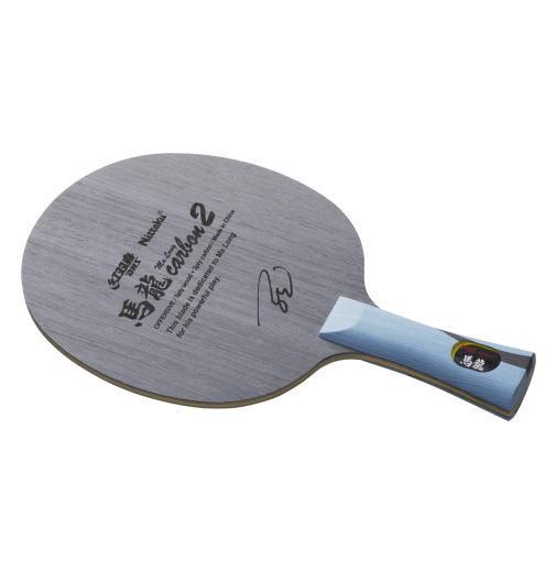 Nittaku ニッタク 卓球ラケット 攻撃用シェークハンド 馬龍カーボン2 FL フレア NC0454