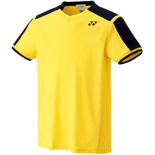 YONEX ヨネックス バドミントン ユニ ゲームシャツ[フィットスタイル] 10271 279 ライトイエロー