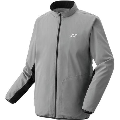 YONEX ヨネックス バドミントン ユニ 裏地付ウィンドウォーマーシャツ ジャケット 70059 010 グレー