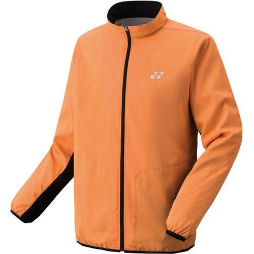 YONEX ヨネックス バドミントン ユニ 裏地付ウィンドウォーマーシャツ ジャケット 70059 160 Bオレンジ