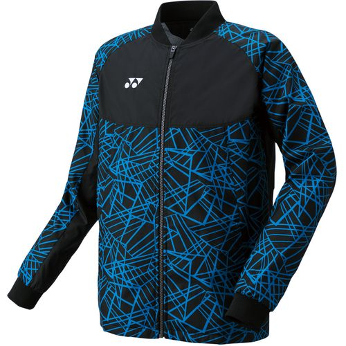 YONEX ヨネックス バドミントン 裏地付ウィンドウォーマーシャツ ジャケット 70060 188 ブラック/ブルー