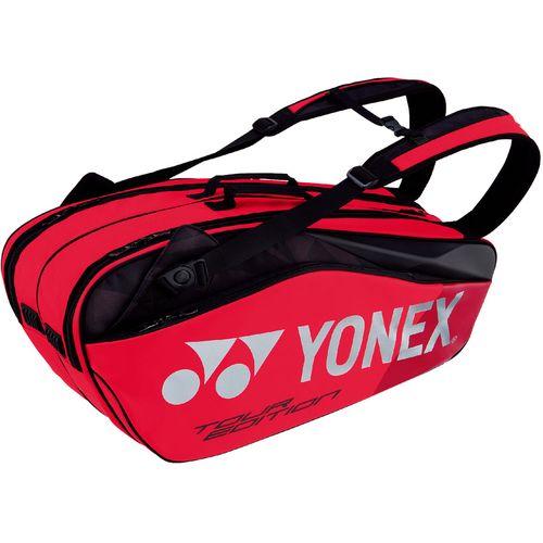 YONEX ヨネックス テニス ラケットバッグ6 ラケット6本収納 BAG1802R 596 フレイムレッド