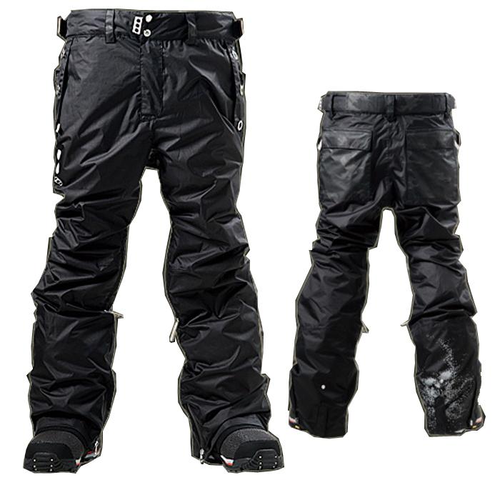 15-16 S.L.D 714-PANTS Black Mat Black Camo L パンツ