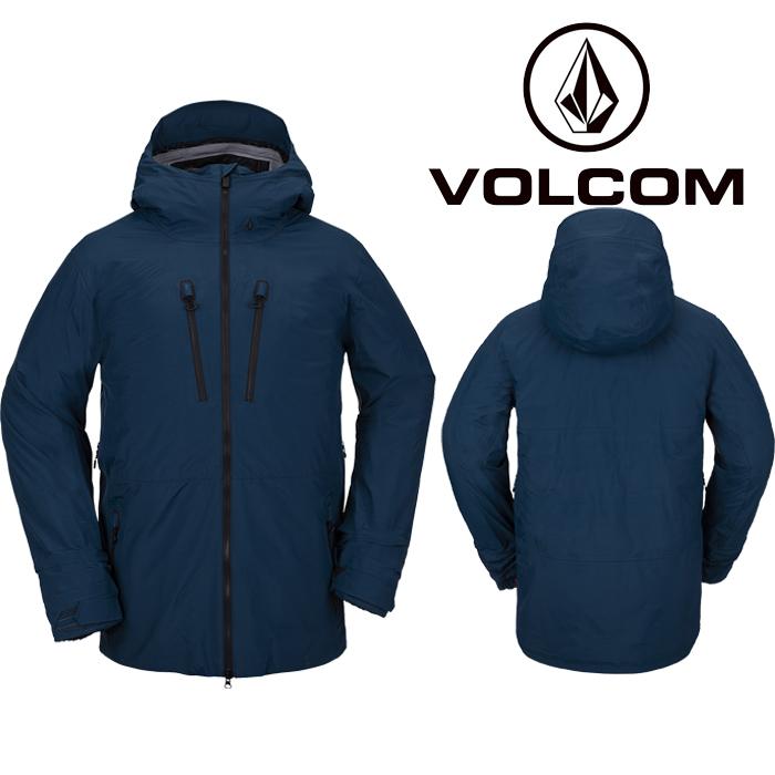 ボルコム ウェア ジャケット 20-21 VOLCOM TDS INF GORE-TEX JACKET BLU-Blue G0452100 スノーボード ゴアテックス 日本正規品 予約