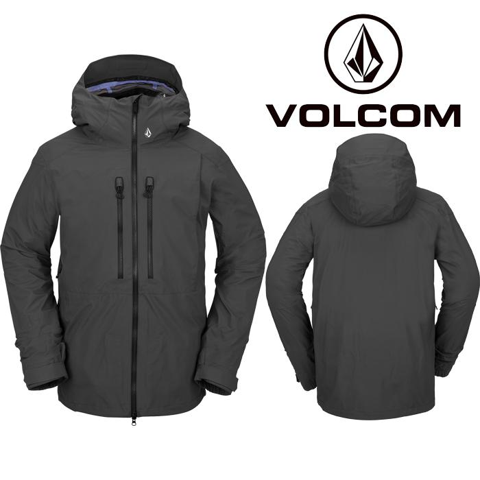 ボルコム ウェア ジャケット 20-21 VOLCOM GUIDE GORE-TEX JACKET DGR-Dark Grey G0652101 スノーボード ゴアテックス 日本正規品 予約