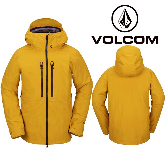 ボルコム ウェア ジャケット 20-21 VOLCOM GUIDE GORE-TEX JACKET RSG-Resin Gold G0652101 スノーボード ゴアテックス 日本正規品 予約