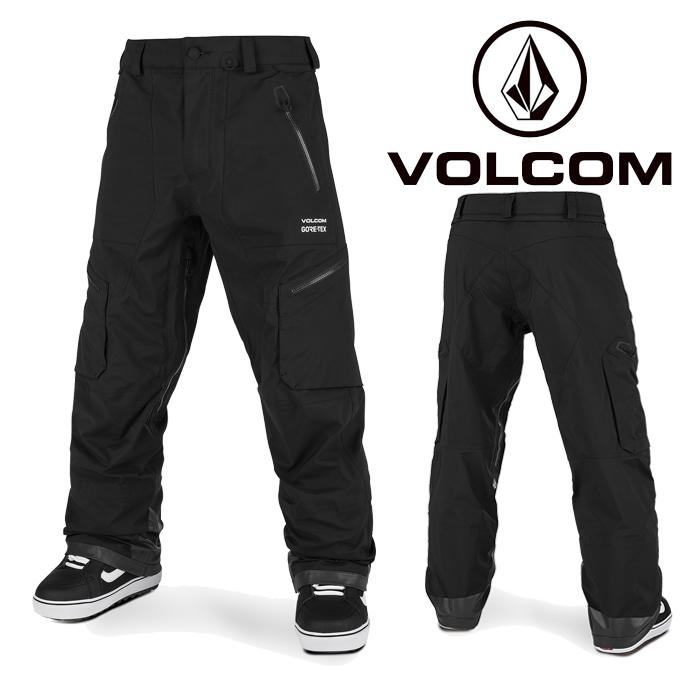 ボルコム ウェア パンツ 20-21 VOLCOM GUCH STRETCH GORE PANT BLK-Black G1352101 スノーボード ゴアテックス 日本正規品 予約