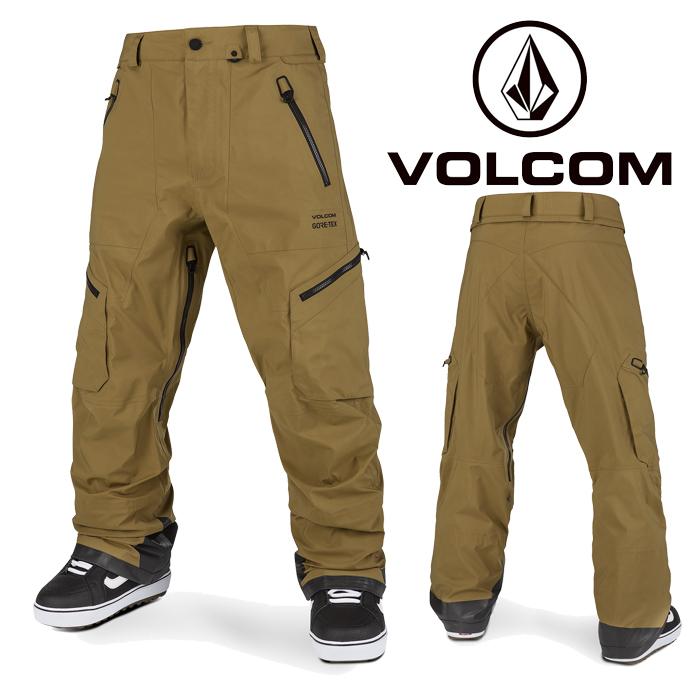 ボルコム ウェア パンツ 20-21 VOLCOM GUCH STRETCH GORE PANT BUK-Burnt Khaki G1352101 スノーボード ゴアテックス 日本正規品 予約