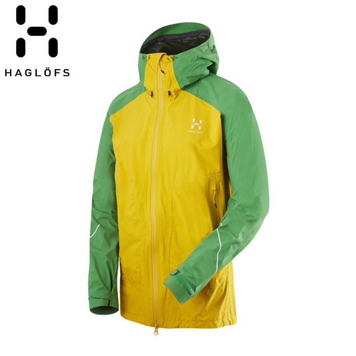 HAGLOFS L.I.M VERSA JACKET (SUN/GINKO GREEN) ホグロフス リム ヴァーサ ジャケット アウトドア スキー 登山 トレッキング (602495)
