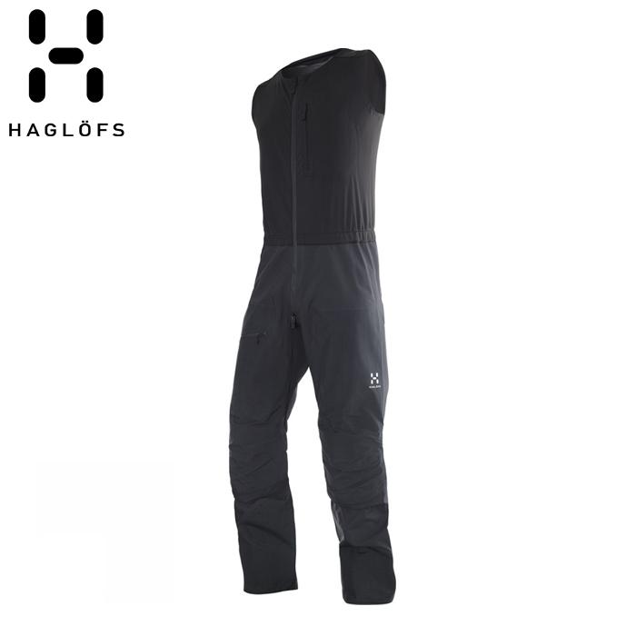 HAGLOFS ROC HARD II BIB Magnetite 602944 ホグロフス ロック ハード ビブ パンツ アウトドア スキー 登山 トレッキング