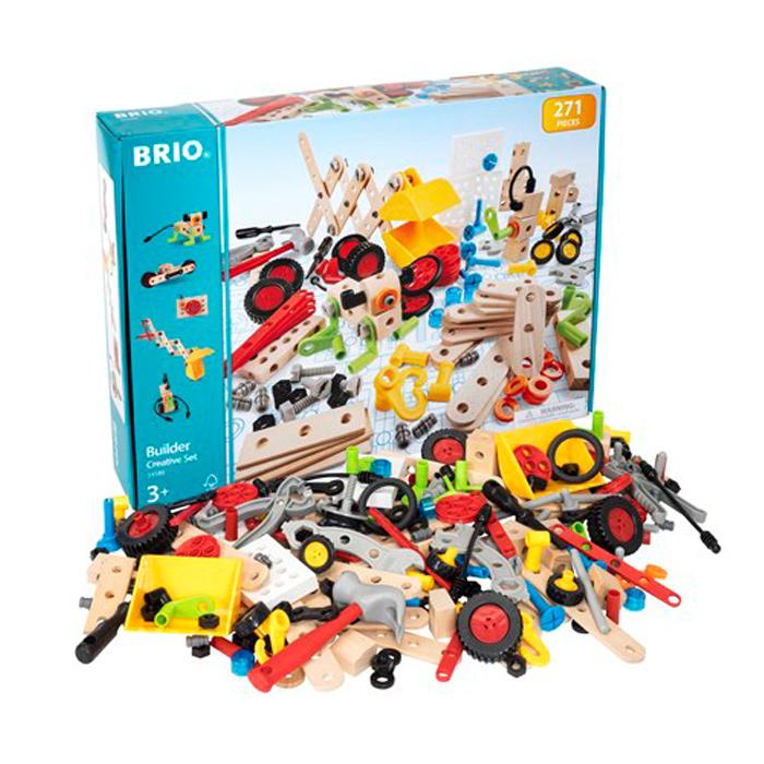 豊かな創造性を育てるシンプルで洗練されたデザインの玩具 ブリオ おもちゃ 高品質新品 BRIO BUILDER 爆買い新作 CREATIVE 玩具 ビルダー オモチャ SET 34589 クリエイティブセット