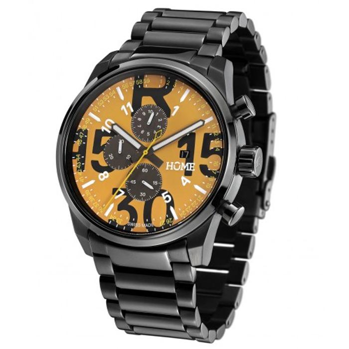 【訳あり/アウトレット】ホーム 腕時計 HOME R-CLASS CHRONO Ash/Orange White 74500502 ギギラフ トラビスライス マークソラーズ 日本正規品