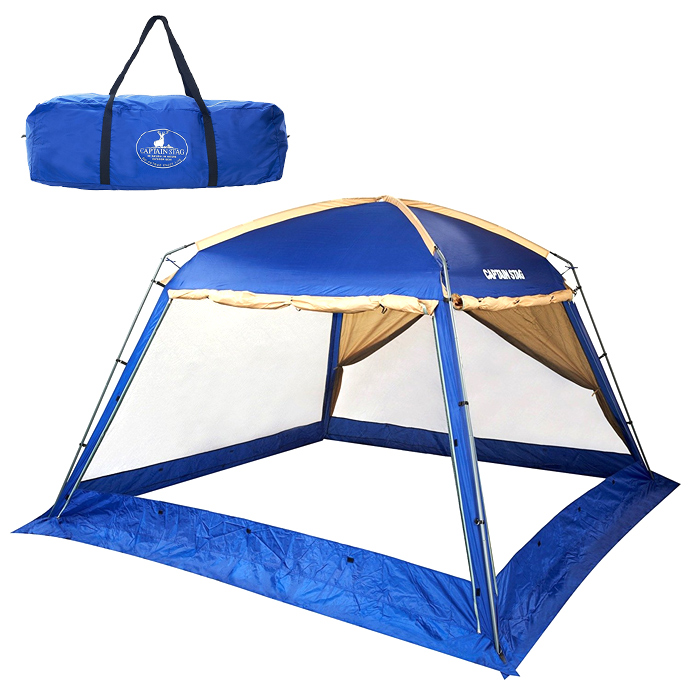 CAPTAIN STAG オルディナリビングスクリーンドーム 340UV M-3171 キャプテンスタッグ キャンプ テント