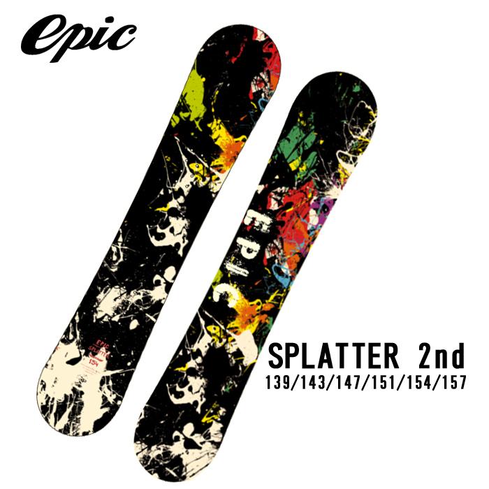 エピック スノーボード 板 EPIC SNOWBOARD SPLATTER 2ND