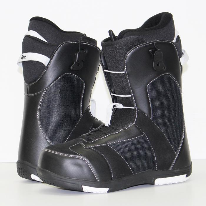 【エントリーでP最大44倍・10/11(金)2時迄】エピック スノーボード ブーツ EPIC BOOTS Black/White