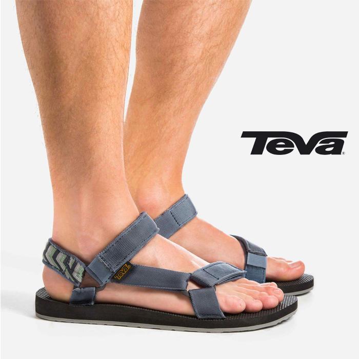 TEVA MEN's ORIGINAL UNIVERSAL AVIN (AZURA VINTAGE INDIGO) Teva mens original  universal water Sandals shoes shoes men outdoor Beach (1004006)