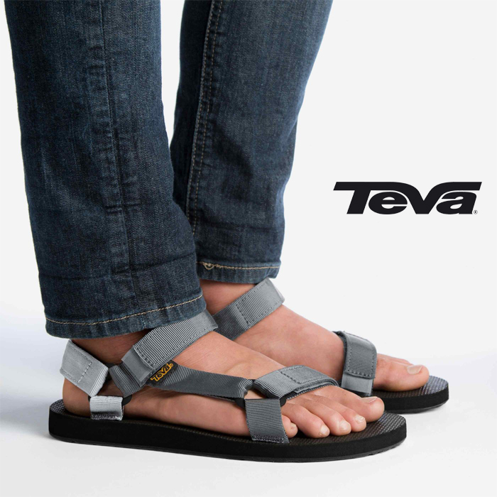 6919d42652d023 TEVA MEN s ORIGINAL UNIVERSAL GREY Teva mens original universal water Sandals  shoes shoes men outdoor Beach (1004006)