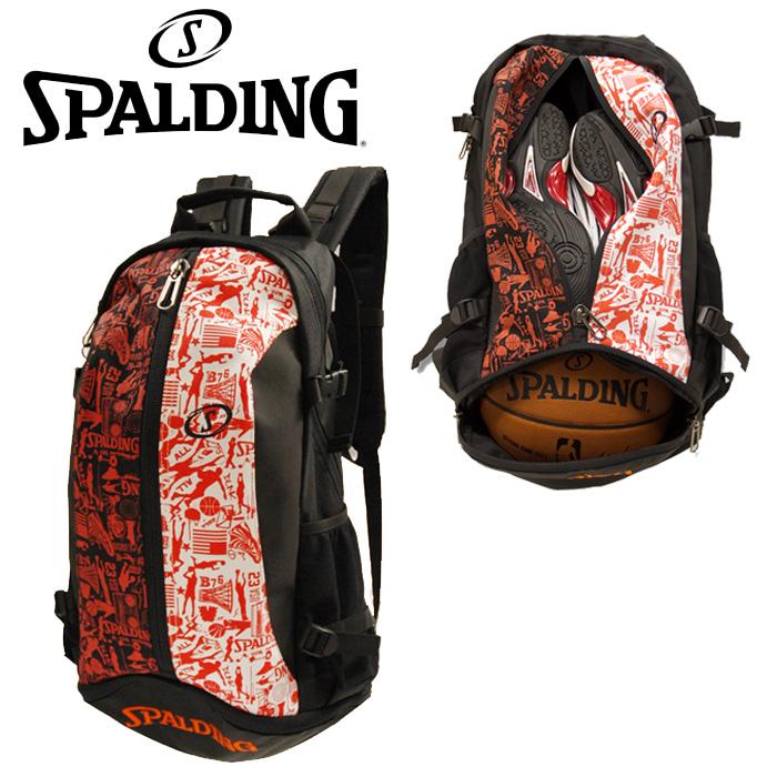 SPALDING CAGER(ケイジャー) グラフィティ Graffiti バスケット専用バックパック 40-007GF スポルディング