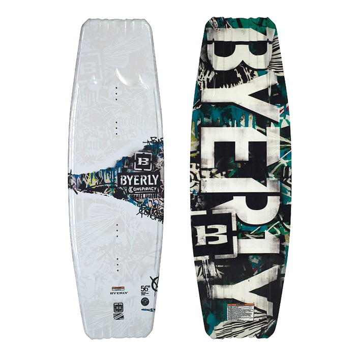 2013 BYERLY WAKEBOARD CONSPIRACY 54 56 バイリー