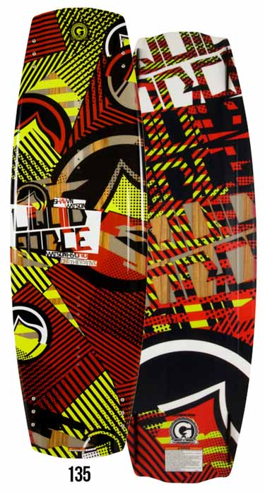 2013 LIQUID FORCE WAKEBOARD WATSON HYBRID 135 リキッドフォース 【1015874】