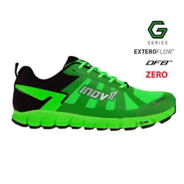 イノヴェイト TERRAULTRA G 260 UNI ランニングシューズ NO1NIG04GB-GBK(グリーン×ブラック) 20SS