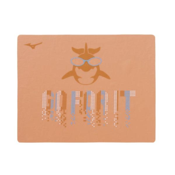 21SSモデル ミズノ MIZUNO スイムタオル 業界No.1 低価格化 N2JY1001-53 スイムアクセサリー オレンジ