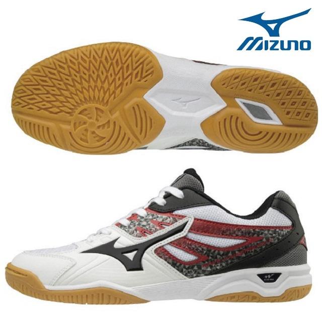 ミズノmizuno ウエーブカイザーブルク 5 81GA182009 卓球 シューズ メンズ レディース 幅広タイプ 2018SS