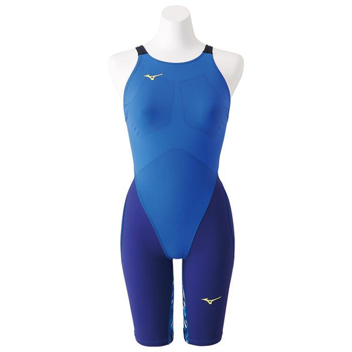 ミズノ 競泳女子水着 MX-SONIC G3 ハーフスーツ レディース水着 N2MG8712-27 ブルー 【返品・交換不可】 2018FW