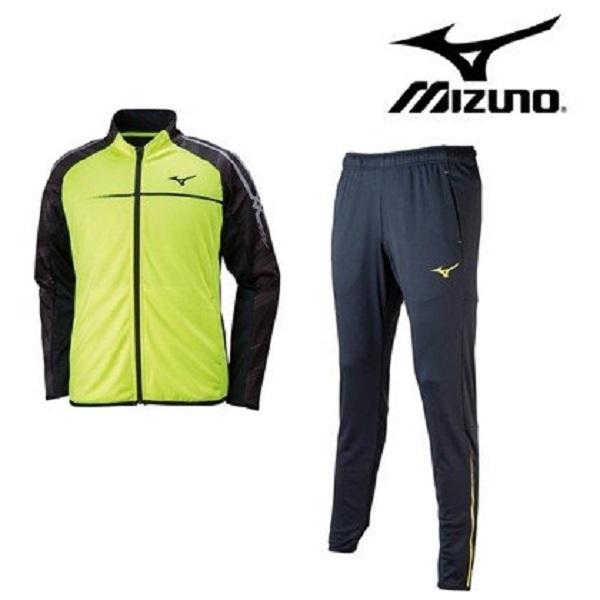 Mizuno ミズノ 陸上 ランニング トレーニング 陸上競技 メンズ 上下セット 吸汗速乾 ニット セットアップ U2MC8010-U2MD8010 (沖縄・離島は送料別途)