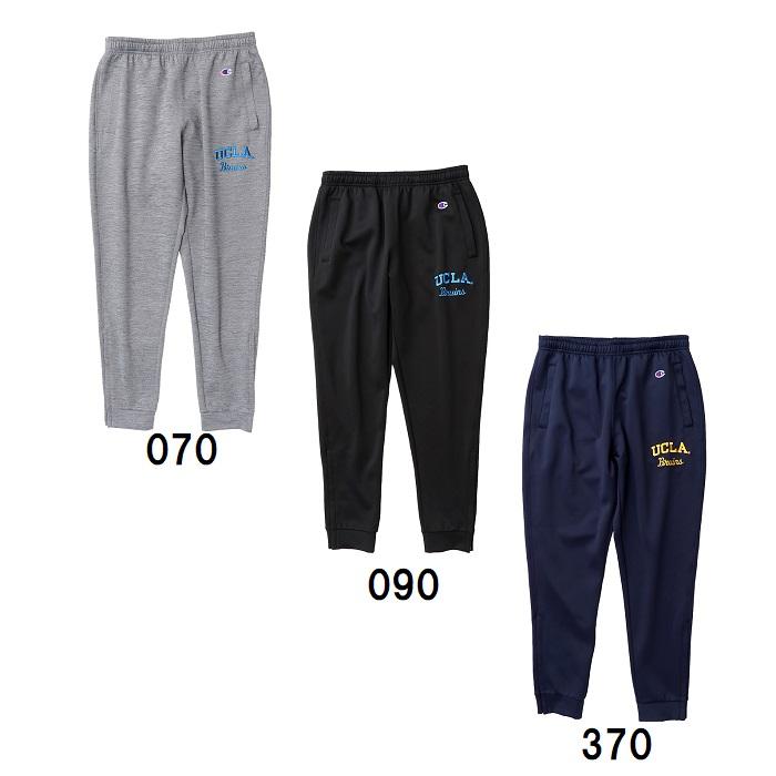 Champion(チャンピオン) メンズ UCLA バスケットスウェットパンツ 裾ファスナー付き バスケットボールウェアー C3NB262 18FW
