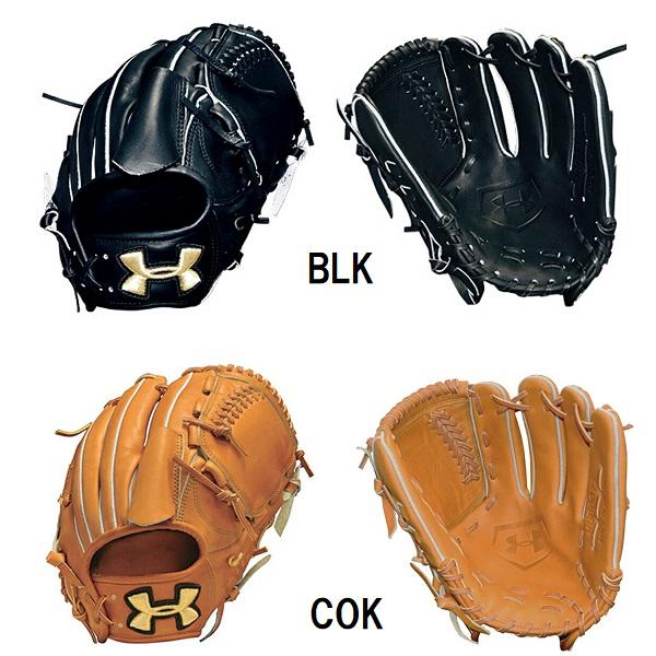 アンダーアーマー 野球 硬式グラブ 投手用 QBB0077 LH 右投げ BLK COK