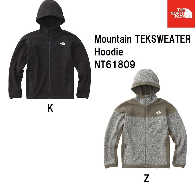 ザ・ノース・フェイス [THE NORTH FACE] マウンテンテックセーターフーディ(メンズ) Mountain TEKSWEATER Hoodie NT61809 2018FW