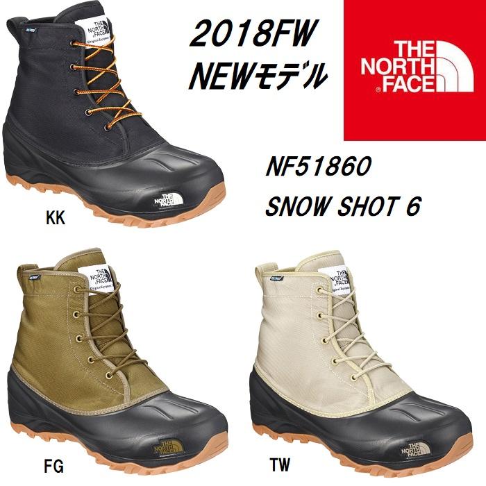 ザ・ノースフェイス THE NORTH FACE スノーショット 6 ブーツテキスタイル IV(ユニセックス) Snow Shot 6 Boots TX IV NF51860 スノーブーツ ウィンターブーツ 撥水加工 保温